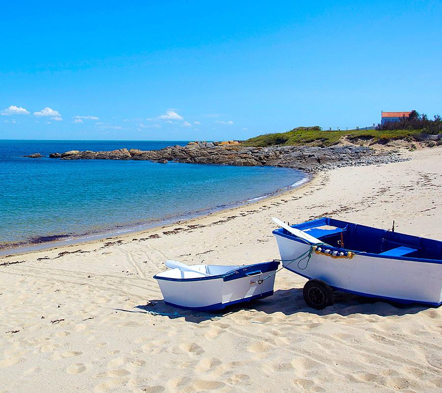 Bateau sur la plage