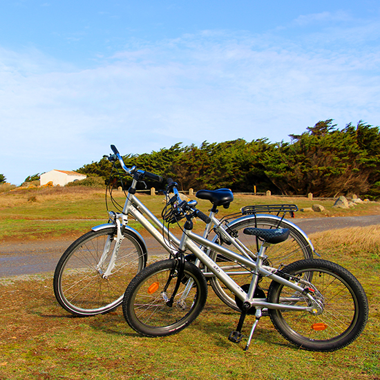 Balade à vélo en vacances