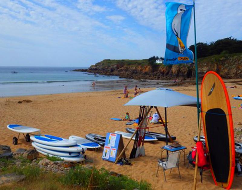 Cours et locations de paddle