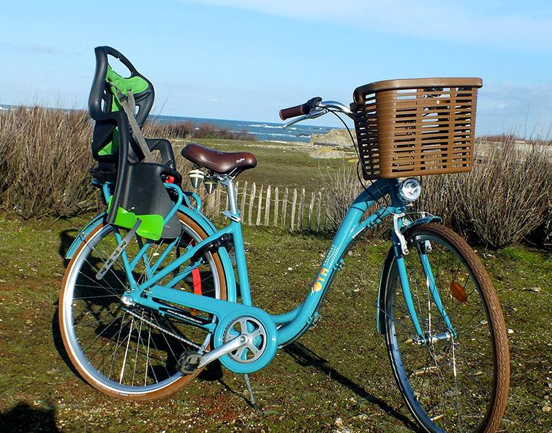 Location vélo siège bébé