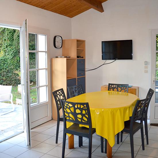 Séjour salle à manger du petit Saint-Amand