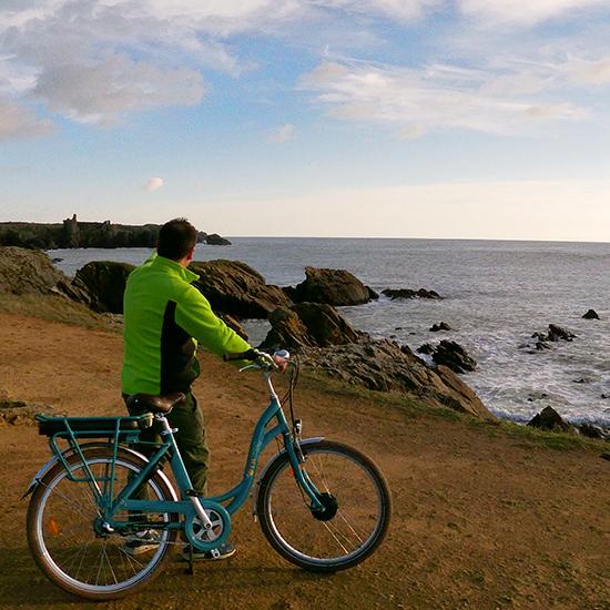 Location de vélo sur l'île d'Yeu