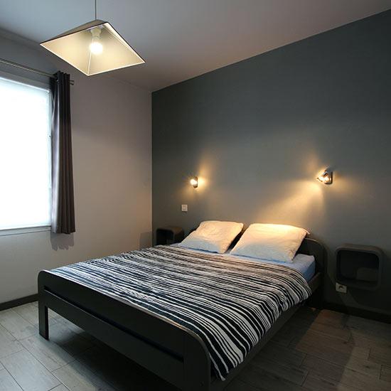 Chambre parentale avec lit double