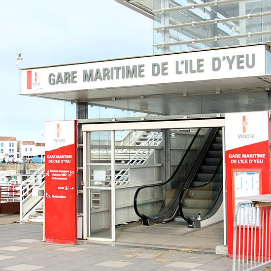 Gare maritime de l'île d'Yeu