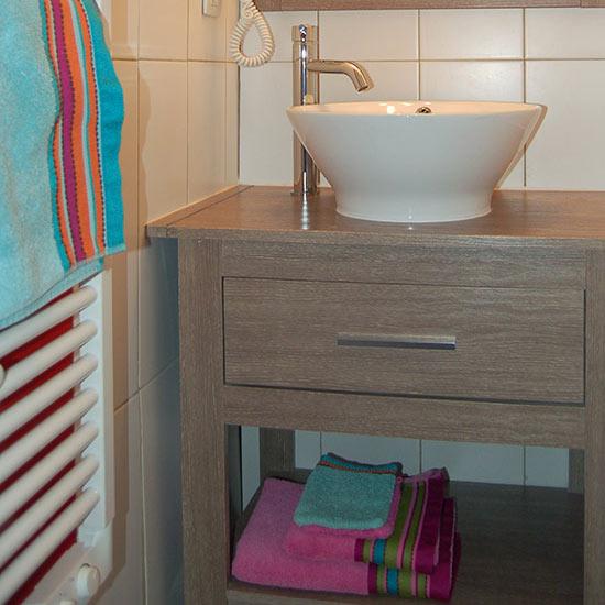 Serviette de bain et gant de toilette à louer