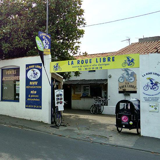 La Roue Libre, location de vélos sur l'île d'Yeu