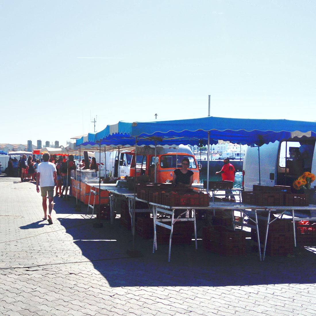 Marché estival de Port-Joinville