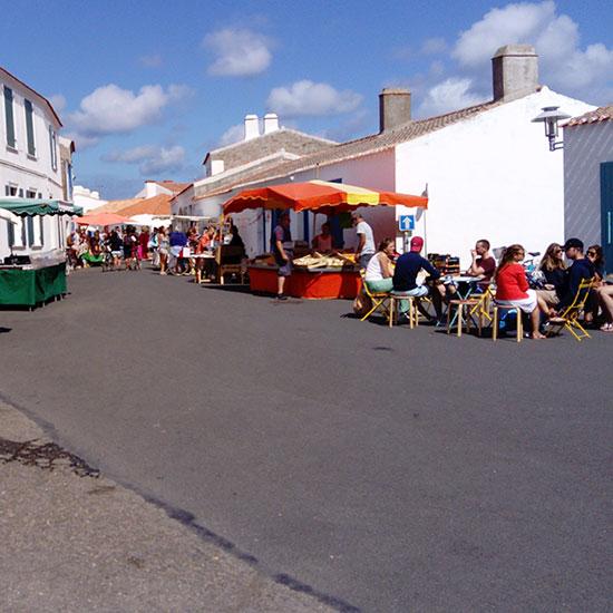 Marché de Saint-Sauveur