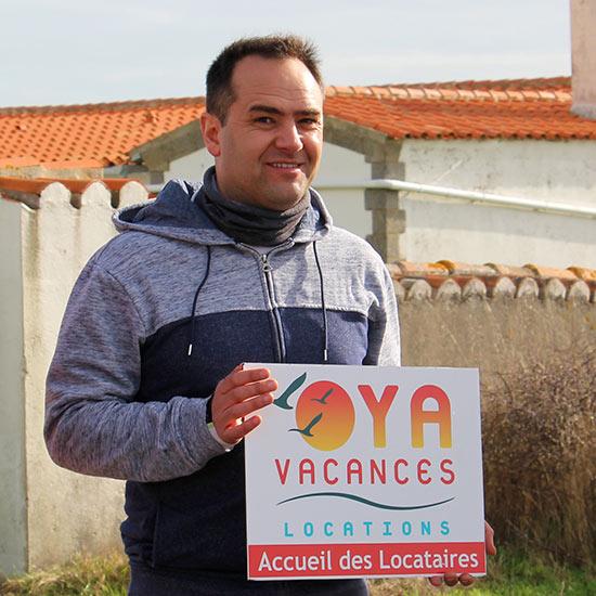 Pascal, associé Oya Vacances Locations