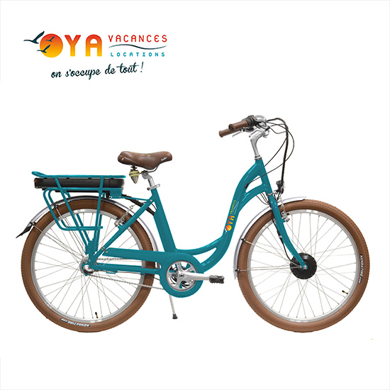 Vélo électrique à louer sur l'île d'Yeu